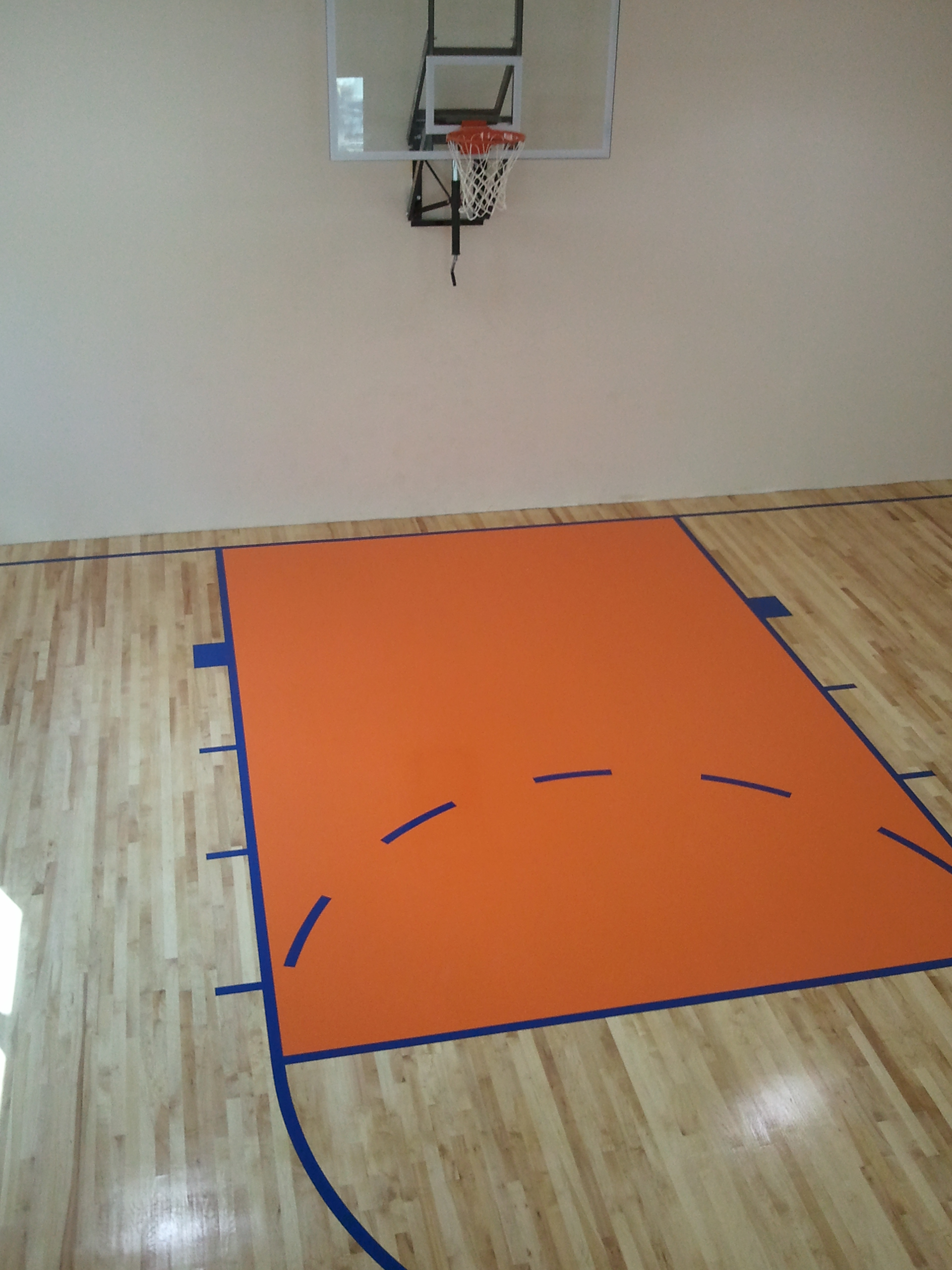 palmetto prep court detailed basketball sanding floor project bastketball portfolio item floors projects