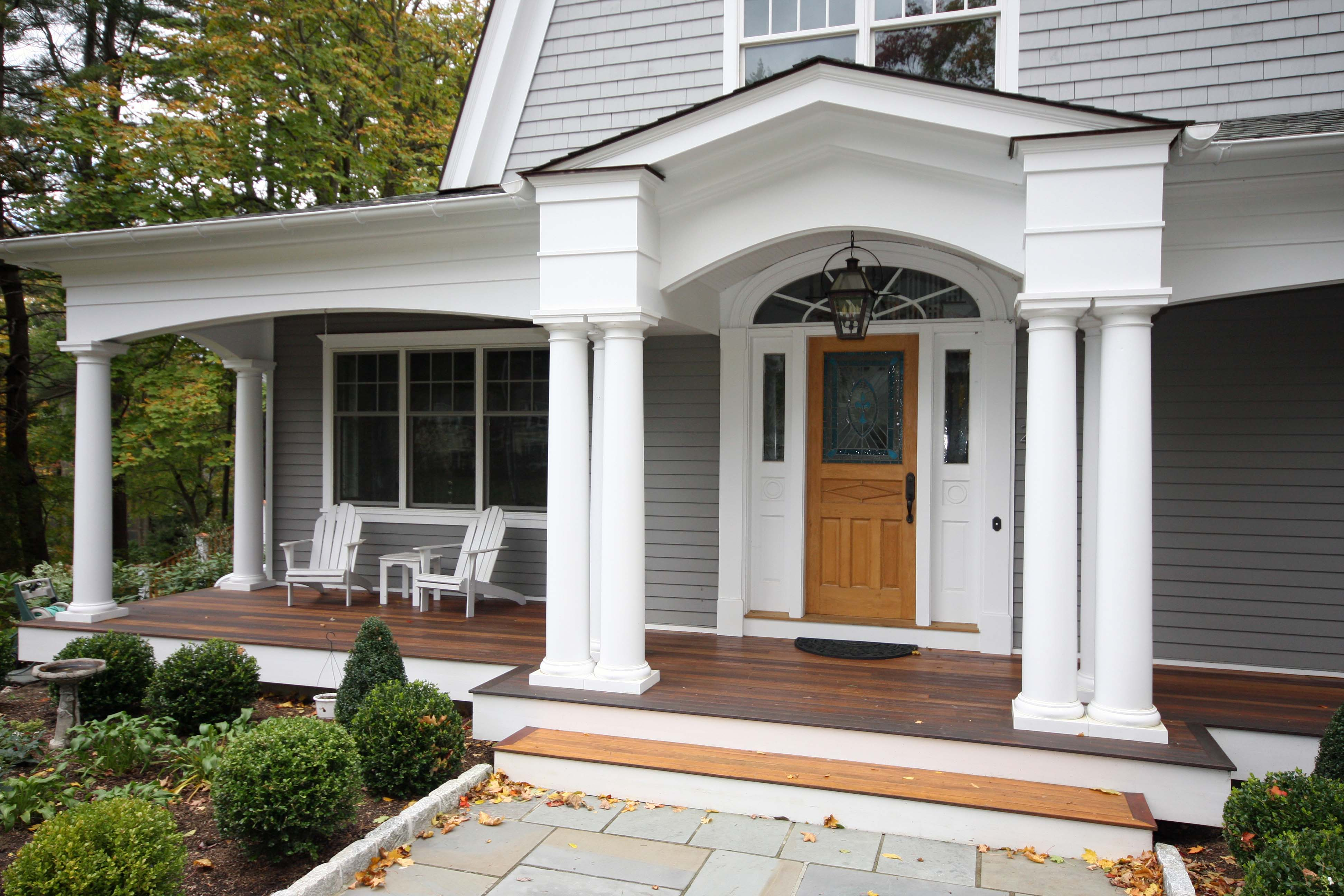 Porches and decks for Front entry decks