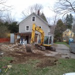 The garage is gone!