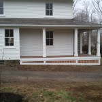 The new porch.